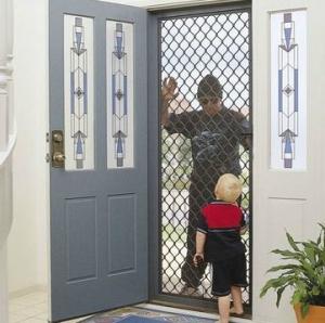 7mm Diamond pattern security door