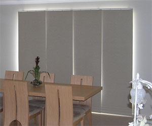 Panel glide blind
