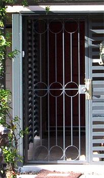 Welded highlite security door